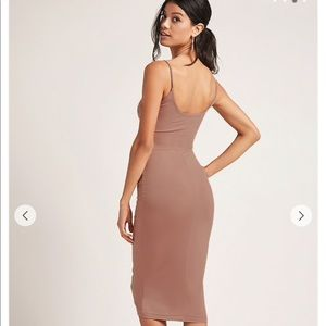 NWT bodycon mauve dress